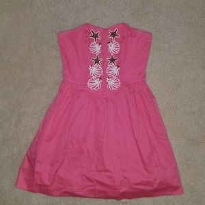 Lilly Pulitzer Mayfield Coral Dress Size 0